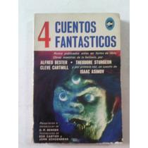 4 Cuentos Fantásticos Asimov Bester Cartmill Sturgeon 1967