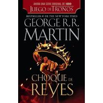 Libro Juego De Tronos Choque De Reyes Vol 2 Español Hbo Pb!