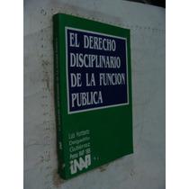 Libro El Derecho Disciplinario De La Funcion Publica , Luis