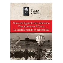 20 Mil Leguas Viaje Centro Tierra Vuelta Mundo 80 Dias Verne