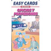 Easy Cards Bilingues Oficios Y Profesiones - Sin Autor