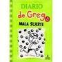Diario De Greg 8 Mala Suerte Envío Gratis Pasta Dura