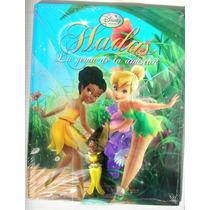 Libro Ilustrado Disney Nuevo Y Sellado Hadas Contiene Figura