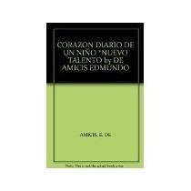 Libro Corazon Diario De Un Niño -990