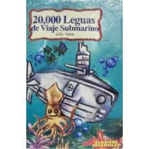 Libro 20000 Leguas Viaje Submarino Clásicos Infantiles 6-10