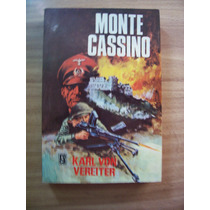 Monte Cassino(libro De Guerra)-au-karl Von Vereiter-roca-rm4
