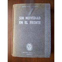 Sin Novedad Enel Frente(l.de Guerra)au-enrich M.remarque-rm4