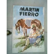 Martin Fierro Edicion Argentina Autor Jose Hernandez Vv4