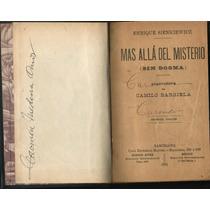 Más Allá Del Misterio. Enrique Sienkiewicz. Edic. 1901 (daa)
