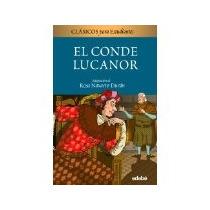 Libro El Conde Lucanor De Don Juan Manuel Para Estudiante