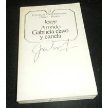 Libro Jorge Amado Gabriela Clavo Y Canela Lbf Envio Gratis
