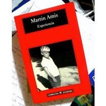 Experiencia - Martin Amis (libro Usado) Sp0