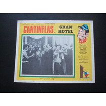 Lobby Card Cantinflas Gran Hotel