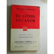 El Conde Lucanor Don Juan Manuel Envio Gratis