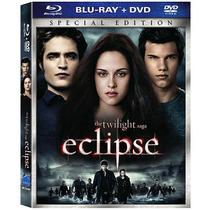 Saga Crepúsculo: Eclipse Edición Especial 2 Discos Blu-ray