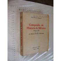 Libro Compendio De Historia De Mexico Hasta 1964 , Año 1968