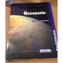 Geografía. Santillana. 2003. Libro Usado