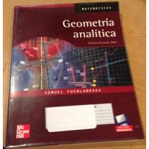 Geometría Analítica. 2004. Matematicas Libro Usado