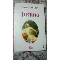 Libro Justina, Marques De Sade, Nuevo Vbf
