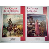 Paquete 2 Libros Don Quijote + Divina Comedia