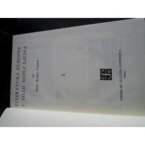 Ernest Robert Curtis Literatura Europea Y Edad Media