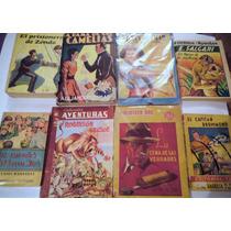Paquete 8 Libros Antiguos Años 40s Tigres Malasia,robinsocru