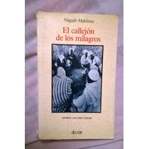 El Callejon De Los Milagros Naguib Mahfouz Libro Alcor 308p
