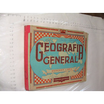 Libro Geografia General , Segundo Libro , Año 1960 , 128 Pag