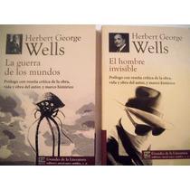 El Hombre Invisible + La Guerra De Los Mundos H. G. Wells