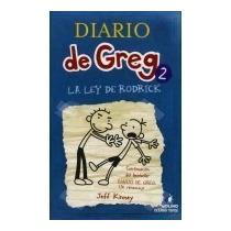 Libro Diario De Greg 2.-la Ley De Rodrick Jeff Kinney