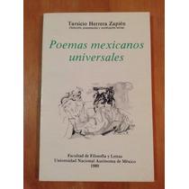 Tarsio Herrera Zapién. Poemas Universales Mexicanos. Nuevo.