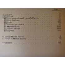José Hernández, Martín Fierro, Rba Editores, España, 1994,