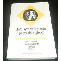 Libro Antologia Poesia Griega Del Siglo Xx Mp0 Envio Gratis