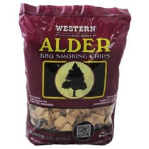 Western 28068 Alder Barbacoa Fumador Chips