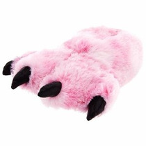 Furry Pink Tiger Zapatillas Adulto L