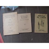 3 Libritos De Pequeñas Obras De Teatro,el Calvario De Una Ma