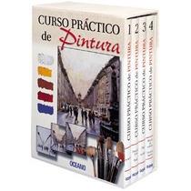 Curso Practico De Pintura Oceano 4 Tomos Edición 2002 Nuevo