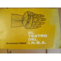 El Teatro Del Inba Anuario 1965 Guiñol Pantomima