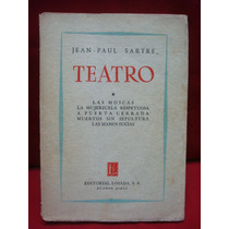 Jean Paul Sartre, Teatro, Tomo I: Las Moscas.