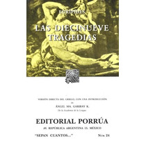 Libro Las Diecinueve Tragedias Euripides Ed Porrua Sp0
