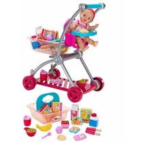 Bebita Y Carrito De Súper, Little Mommy, Para Niñas De +2