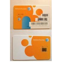 Att Ir Teléfono Prepago Micro Sim Card Iphone4 / 4s, Ipad1 /