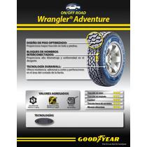 235/80r17 Llanta Goodyear Wrangler A/t Adventure