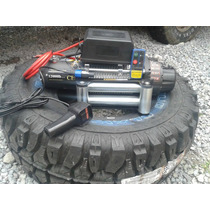 Llanta 33x12.5 R15 1 Pza+1 Winch 12,000lbs Jeep 4x4