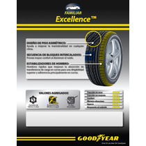 225/45r17 Goodyear Excellence Run On Flat 91y