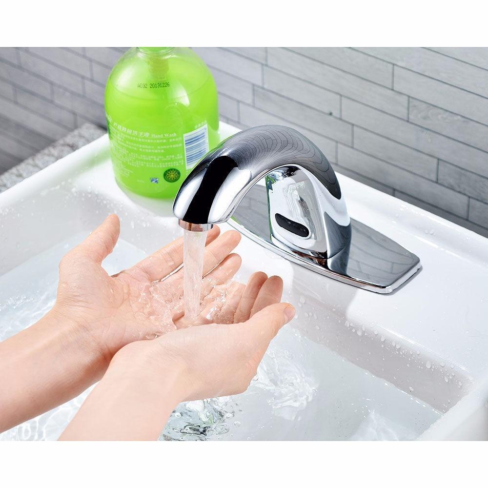 Llave para lavabo c sensor infrarojo automatica envio for Llaves para lavabo helvex