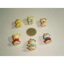 Vintage Figuras Pequeñas Hello Kitty 6 Piezas