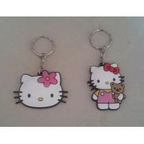 Bonito Set Llaveros Infantiles Niña Figuras Hello Kitty