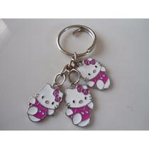 Hello Kitty Llavero De Dijes Acero Inoxidable 0161