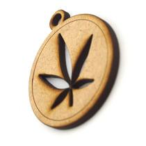Llavero Original En Forma De Marihuana Economico Art68